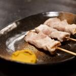 焼き鳥 もつ焼き 青山 - 【ブタミンAコース@1,700円】ササミ