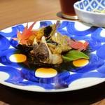 Chuugokusaiesusawada - 2日品目、上海蟹の紹興酒漬け