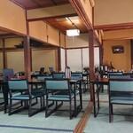 旅館藤乙 - 大広間 テーブル席