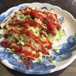 カフェテードゥン しだめー館 - タコライス ¥1,000-