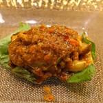 レンゲ - 上海蟹の豆豉炒め