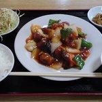 11988878 - 酢豚定食