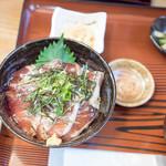 船宿割烹 汐風 - ブリ漬け丼1210円