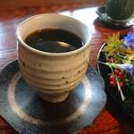京都生ショコラ オーガニックティーハウス - オーガニックコーヒー。