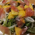 佐渡特産 おけさ柿のフルーツサラダ
