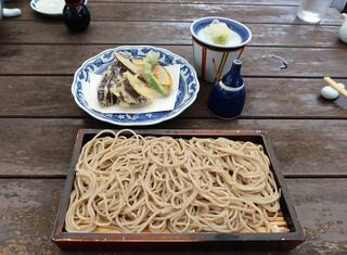 鎌倉 松原庵 - 由比コースの天ぷらとお蕎麦