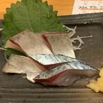 地魚屋台とっつぁん - 鯖刺身