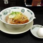 日高屋  - 汁なしラーメン570円