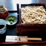 楽座 - 料理写真:楽座@松本 せいろ 一人前(1000円)
