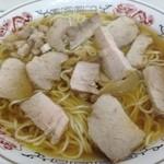 ことぶき - ことぶき・チャーシュー麺