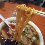 119891206 - 麺にスープがよく絡みます