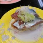 ジャンボおしどり寿司 - 鯵