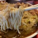 ラーメン桐生 - 麺