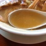 食堂 はせ川 - スープ