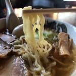 食堂 はせ川 - 麺