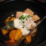 えん - 豚とかぼちゃの炊き合わせ