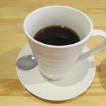 てぃーだむーん - ヘーゼルナッツバニラのコーヒーです