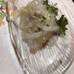 旬香 魚佐太 - 軽くて鯛のカルパッチョ
