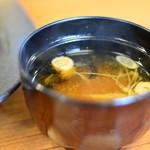 平田牧場 とん七 - 汁椀