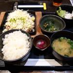 升屋 - ハンバーグ定食880円