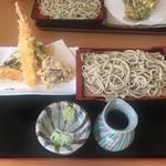 そば畑 - 天ぷら