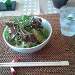 あとりえ・あい - 料理写真:家庭菜園で収穫された・我が家のサラダ
