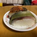 活魚料理 花惣 - 料理写真:鯖棒寿し断面