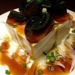 11992128 - ピータン豆腐。豆腐がでかい!