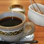 絆 - ケーキセットのブレンドコーヒー