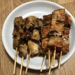ハセガワストア - 豚精肉串(うま辛たれ)・鶏肉串(たれ)