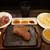 やっぱりステーキ - 料理写真:赤身ステーキ(200g) 1,000円(スープ、サラダ、ご飯 食べ放題付)