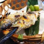 あゆ処 国技館 - 料理写真:鮎の塩焼き