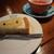 パパジョンズ - 洋梨のチーズケーキ