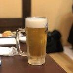 いはや寿司 - ドリンク写真:生ビール
