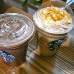 スターバックス・コーヒー - オレンジ ブリュレ フラペチーノとカフェモカ・2012/2