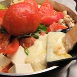 十焼十鍋 - ラクレットチキントマト鍋