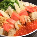 十焼十鍋 - 海鮮親子石狩鍋