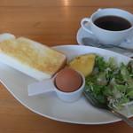 ブルーカフェ - 料理写真:日替わりモーニングセット