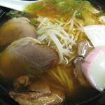 伯備 - 猪ラーメン 850円 (2012.3)