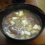 伯備 - 田舎の味 野方汁 350円 (2012.3)