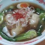 和・陽春 まつ井 - ワンタン麺