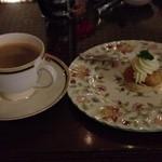 白馬樅の木ホテル - クリームチーズと柚子のケーキ