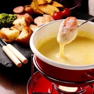 【冬のおすすめ】チーズフォンデュ