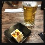 味楽 - 生ビール&お通し