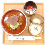 ユッケジャン御膳(7種おかず付き)