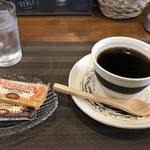 カプリス - ドリンク写真:いただいたコーヒーはキリマンジャロブレンド(2019.11.18)
