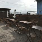 山のパン屋 ダディーズ・ベーカリー - 今日は天気が良かったから、テラス席は乾いていましたよ!(2019.11.18)