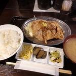 旨焼 もぐり - B大関(ご飯大盛り無料) 1200円