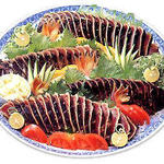 浪漫亭 - たたき皿鉢