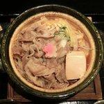 11996786 - すきやき膳<限定15食> 1000円 の岩手岩中豚のすきやき